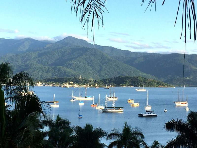 Great views on Paraty Bay & Marina, Ferienwohnung in Paraty