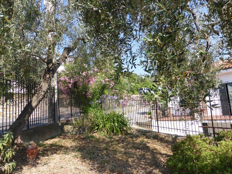 Große, helle Ferienwohnung, Balkon, Terrasse, Garten, Privatparkplatz, WiFi, holiday rental in Pontedassio