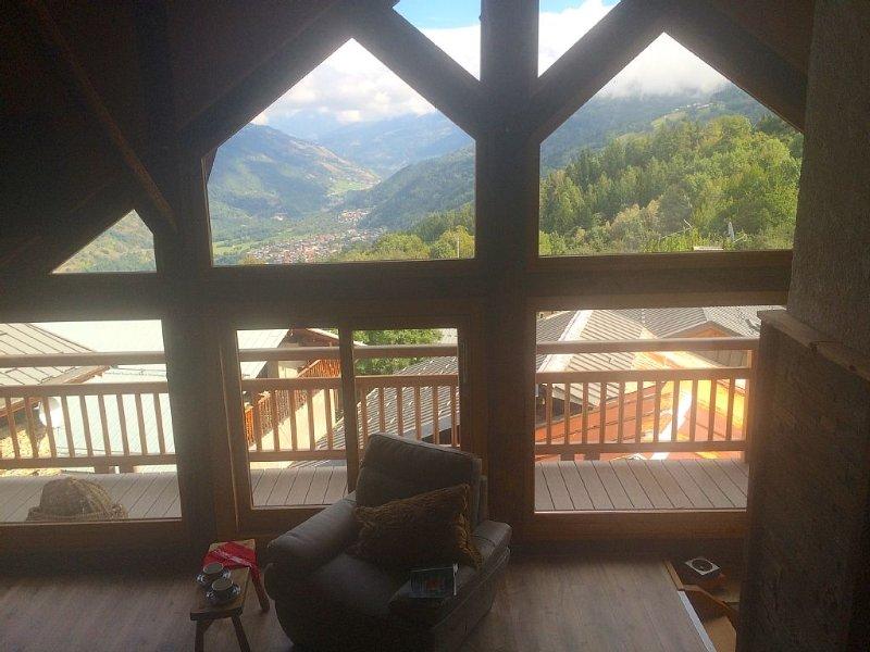 Appartement 125 m2 ski et rando près de Montalbert la Plagne, holiday rental in La Cote-d'Aime
