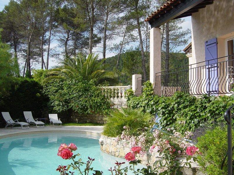 Villa provençale entre Ste Maxime et les Gorges du Verdon, aluguéis de temporada em Chateaudouble