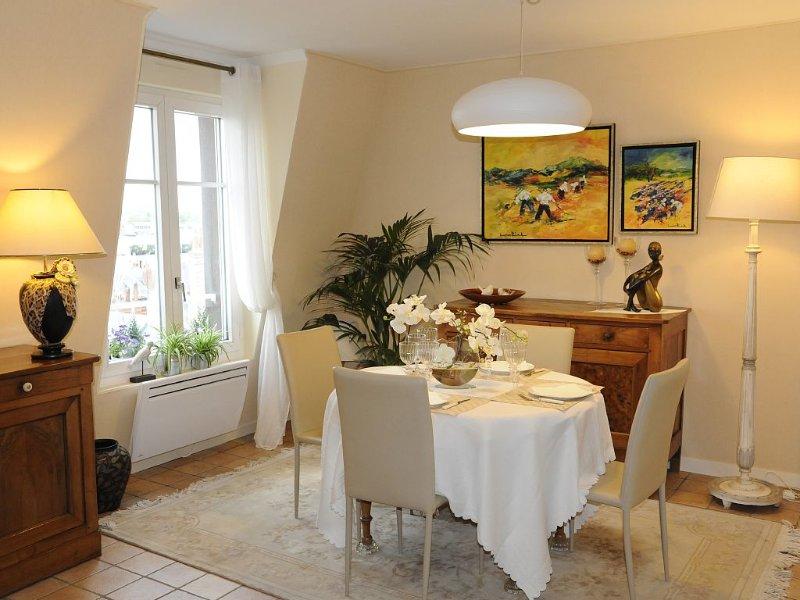 Appartement TRES bien situé,  plein de charme, calme proche centre  historique, location de vacances à Joué lès Tours