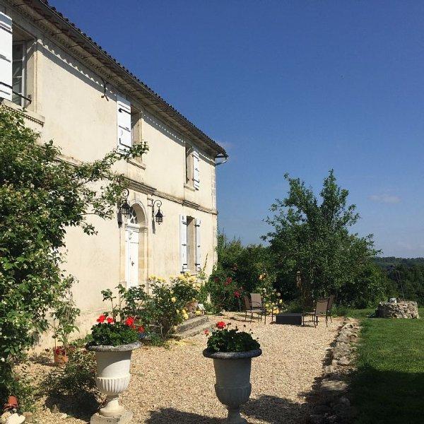 Gironde St Emilion, holiday rental in Cessac