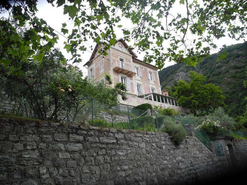 MERCANTOUR, Lodging Villa beautiful site REEL 06380, holiday rental in Fontan