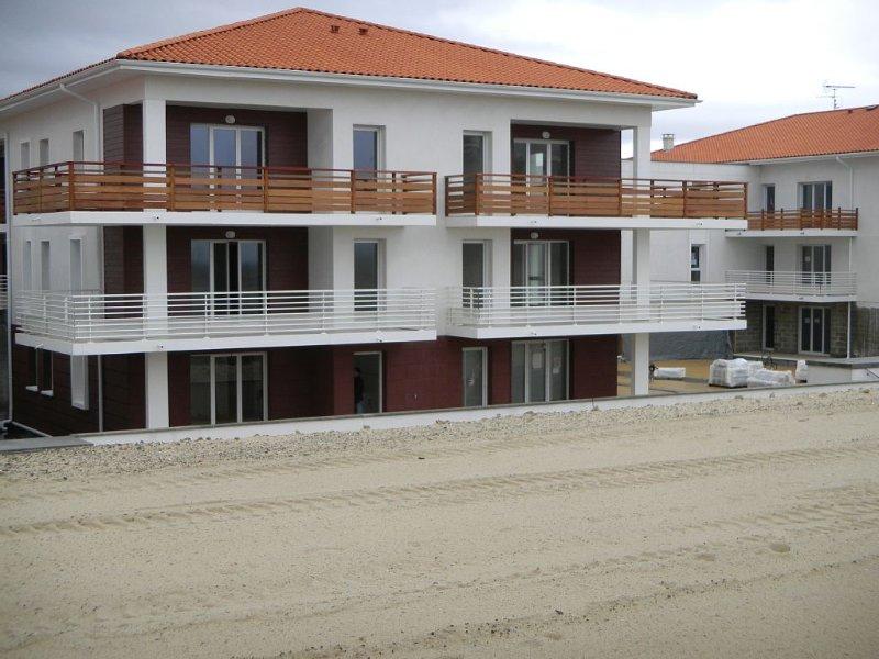 Appartement Standing Vue sur l'Ocean, location de vacances à Biscarrosse