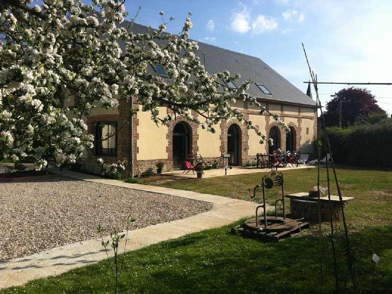 Gîte La Bottinière à Grigneuseville, holiday rental in Bertrimont