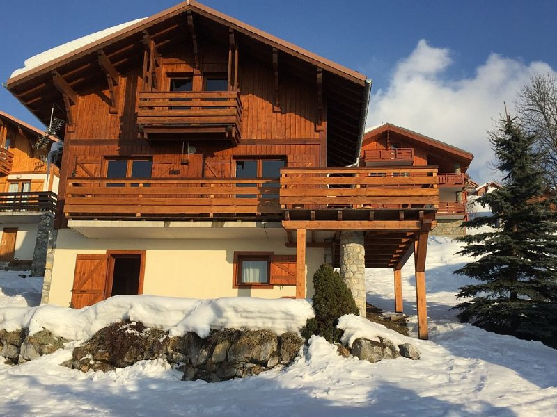 Independent Chalet Vallandry 10 / 11p, holiday rental in Peisey-Vallandry