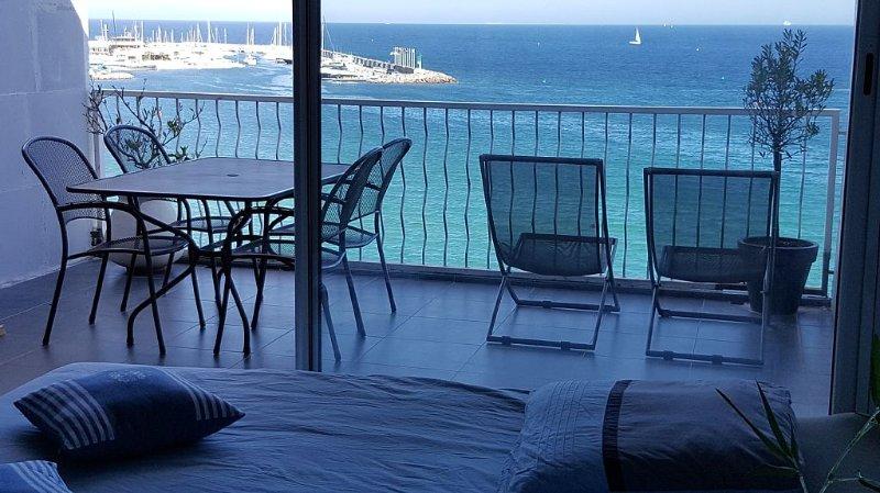 Comme sur une croisière sur la méditerranée !!!, Ferienwohnung in Ste-Maxime