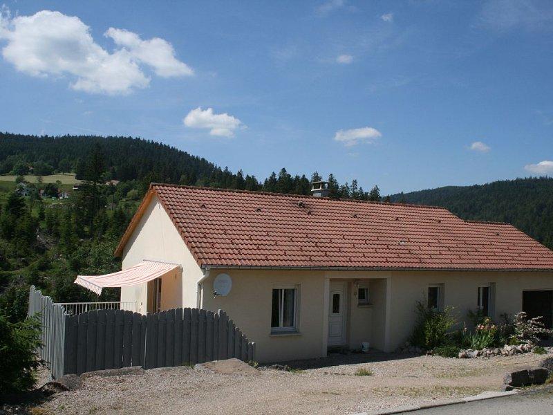 Maison récente plain pied 7 /8 personnes+bébé Gérardmer Vosges, alquiler de vacaciones en Gerardmer