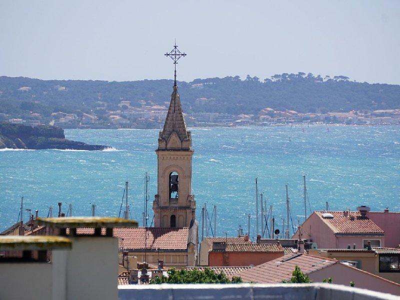 T2 , superbe vue mer, location de vacances à Sanary-sur-Mer