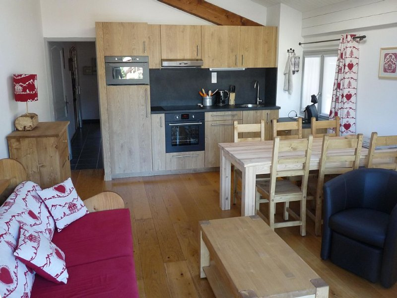 The Tarines, beautiful apartment 4 stars for 4 people – semesterbostad i Les Contamines-Montjoie