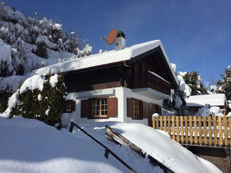 Chalet 6 pers / Vue panoramique / Grand confort / Calme assuré, holiday rental in Nendaz