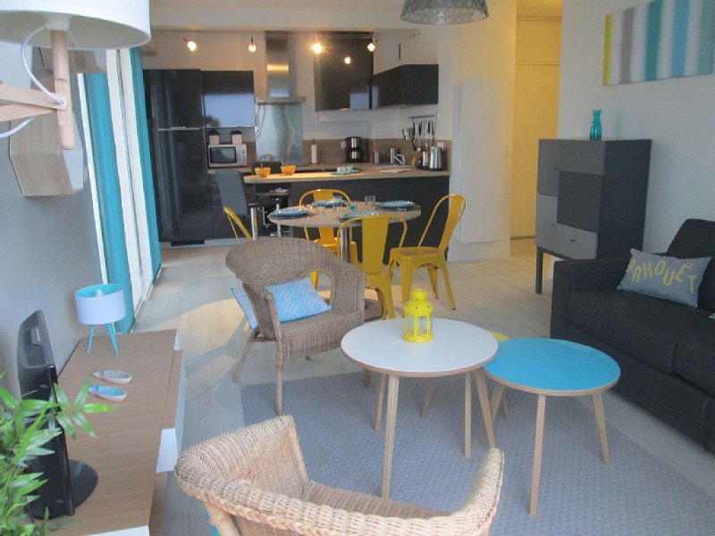 APPARTEMENT RESIDENTIEL FACE A LA MER, holiday rental in Cotes-d'Armor