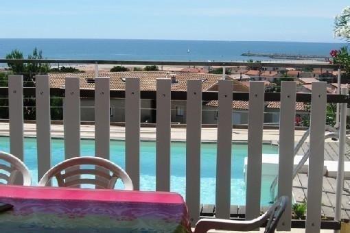 Maison et piscine privée pleine vue mer, holiday rental in Fleury