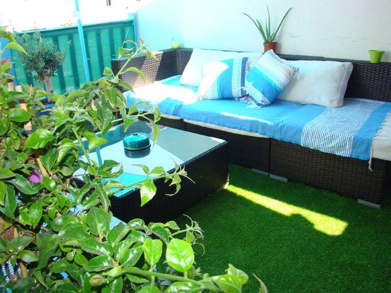 Bel appartement confortable avec terrasse proche plages et commerces 4/6 pers, location de vacances à Saintes-Maries de la Mer