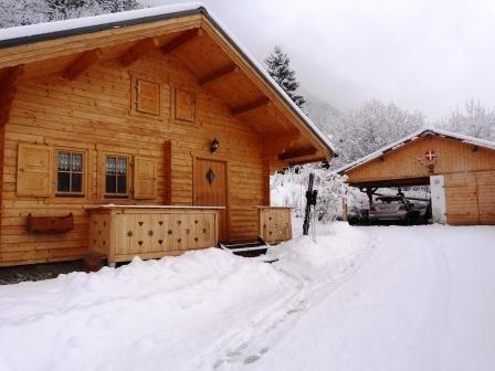 petit chalet bois esprit montagne 2à4 pers.40m2, location de vacances à Saint-Gervais-les-Bains