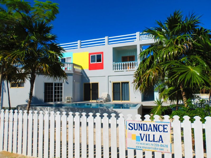 2-BR / 3-BA * Sundance Villa + Swimming Pool, Caye Caulker, Belize, holiday rental in Caye Caulker