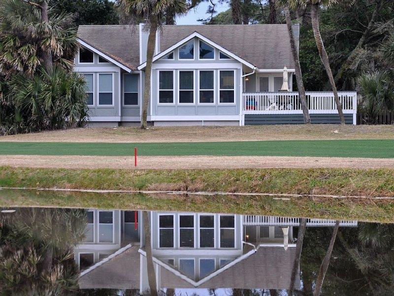 Golf Course Home: 3BR 2 1/2 Bath, Hdtv, Wifi, alquiler vacacional en Fripp Island