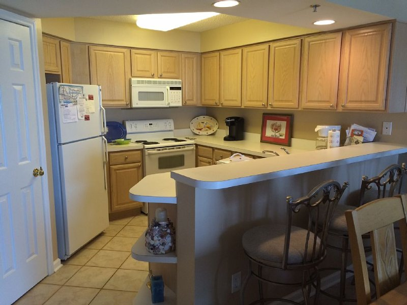 Oceanfront 3 bedroom 3 Bathroom condo in Litchfield by the Sea Pawleys Island SC, holiday rental in Pawleys Island