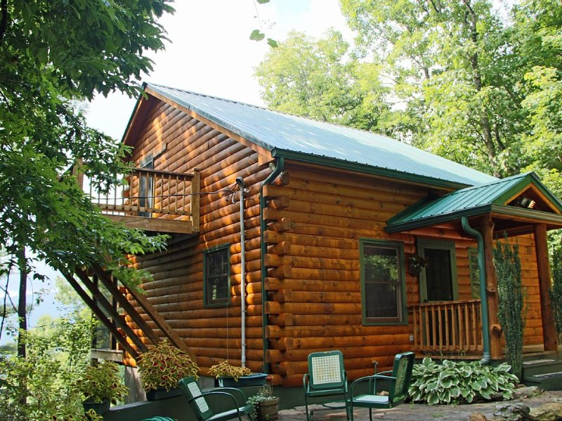 Views of Black Rock Mountain and Clayton, holiday rental in Wiley
