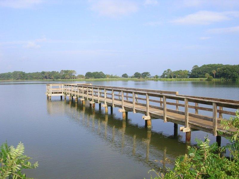Fishing Dock at Bass Pond - a 10 minute walk