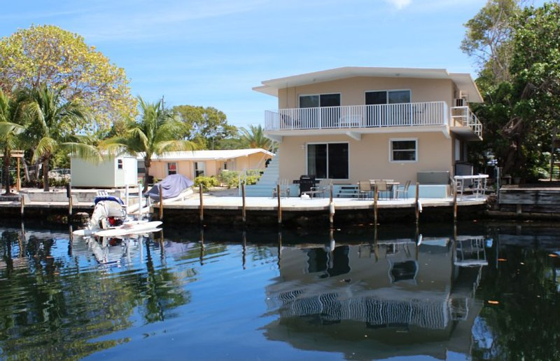 Paradise in Plantation Key/Deep Water Canal House In Plantation Key Colony MM 89, vacation rental in Tavernier