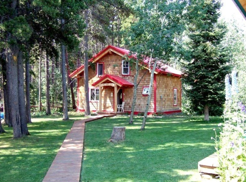 Timber Frame Guest Cottage, holiday rental in Browning