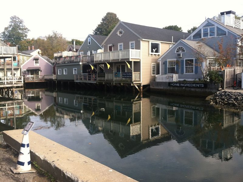 A unique view in downtown Kennebunkport