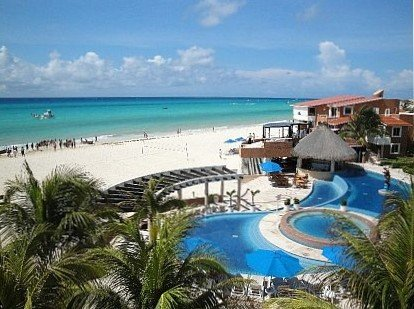 Million dollar view Beachfront penthouse, Quiet yet close to 5th Ave, location de vacances à Playa del Carmen