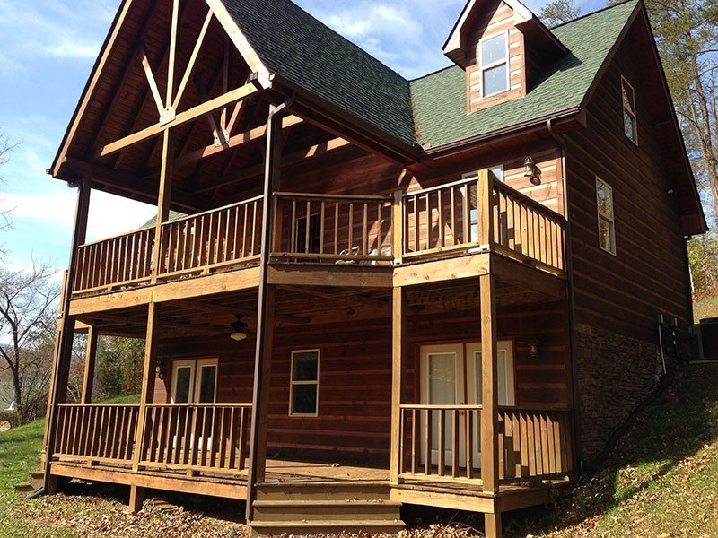 Book for Summer!  Cabin - Lakefront, Dock, Fishing, Swim, near ATV trails – semesterbostad i Huntsville