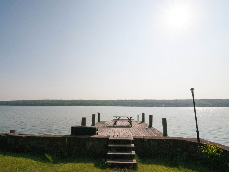 Private dock with room for your boat (or use our canoe and kayaks).