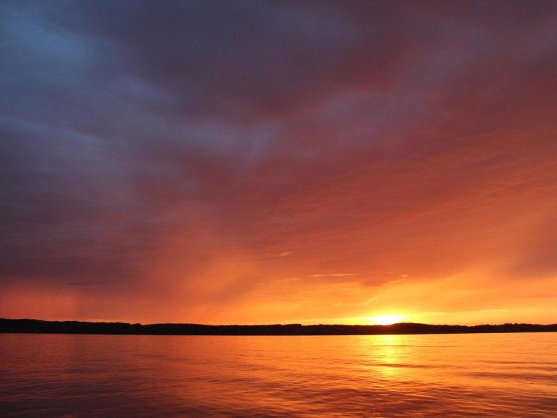 Beautiful Torch Lake Sunset