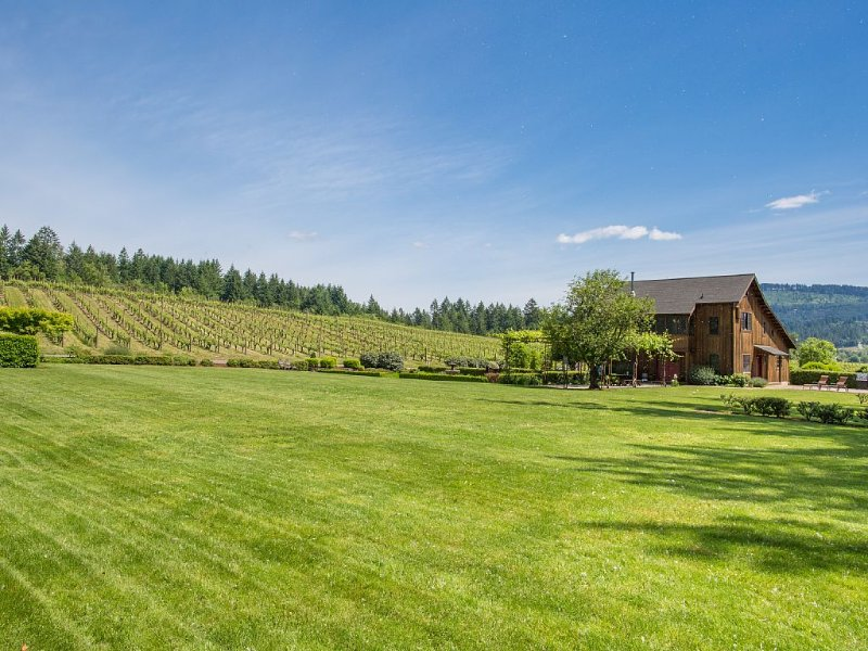 Great House W/ Spectacular Vineyard Views In The Heart Of Oregon's Wine Country!, holiday rental in Yamhill