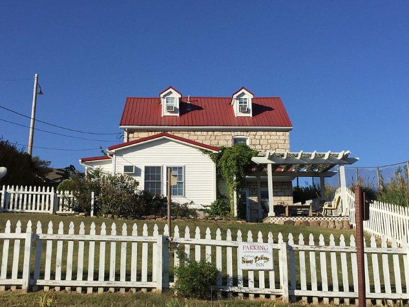 DeFlorin Stone Cottage Inn on the Bluff!