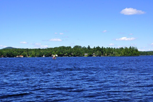 View from Dock of Thomas Pond