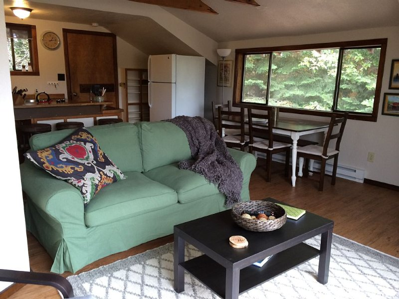 1 Bedroom, 1 Bath House In The Woods, Sleeps Up to 4, vacation rental in Sandpoint