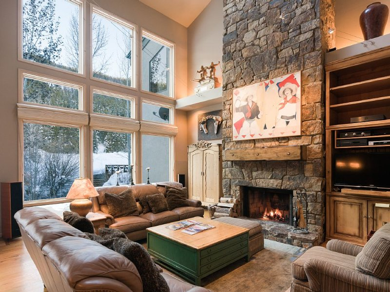 Luxury Mountain home ! Ski in!, holiday rental in Ketchum
