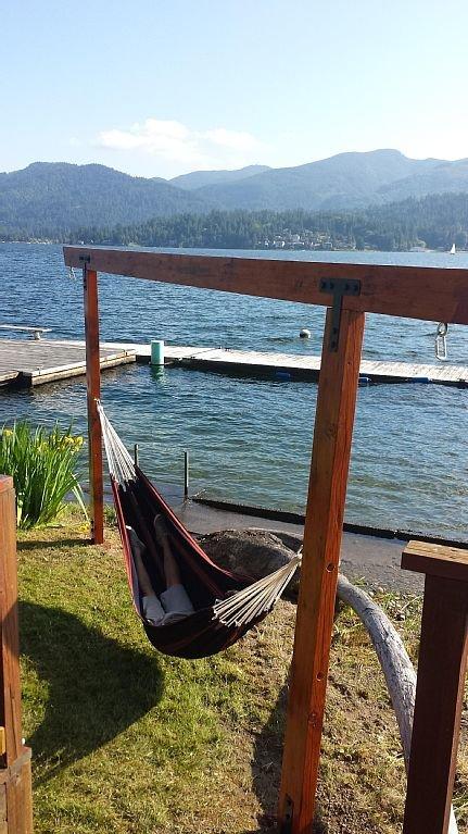 Newly build hammock.