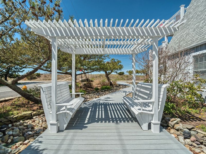 Boardwalk and Pergola