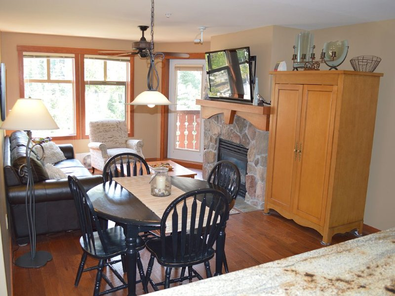 Solitude Ski Resort  beautiful 2 bedroom/2 bath ski in/out condo, vacation rental in Brighton