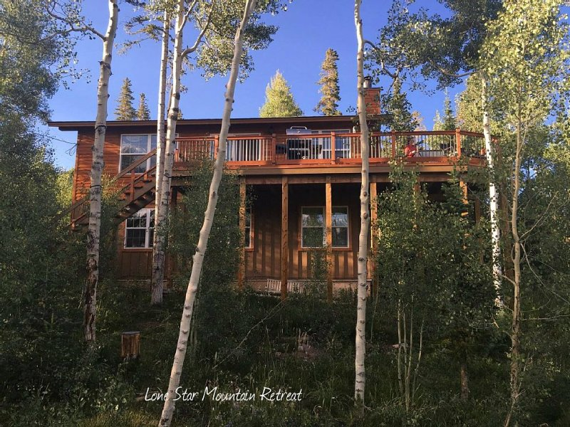 Get away to the mountains! Beautiful home - stunning views!, alquiler de vacaciones en Silverthorne