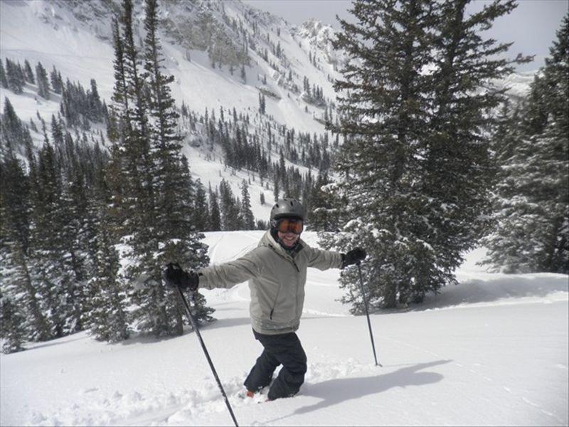 Ski the Deep in Honeycomb