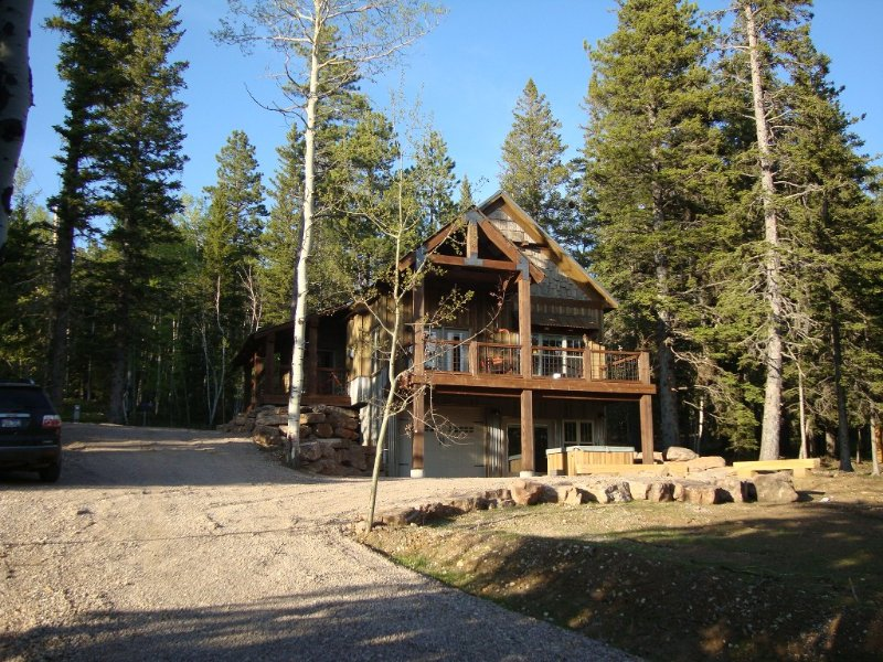 Beautiful cabin at Terry Peak, just 1/4 mile from the main lodge!, holiday rental in Lead