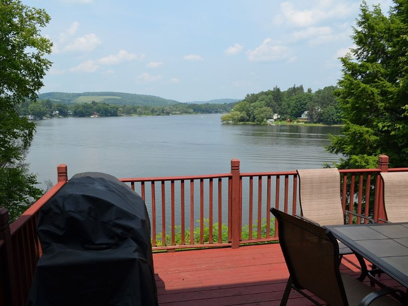 Situated minutes from Cooperstown and Oneonta - Perfect Lakefront Setting, holiday rental in Davenport Center