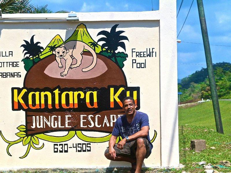 Kantara Ku road sign