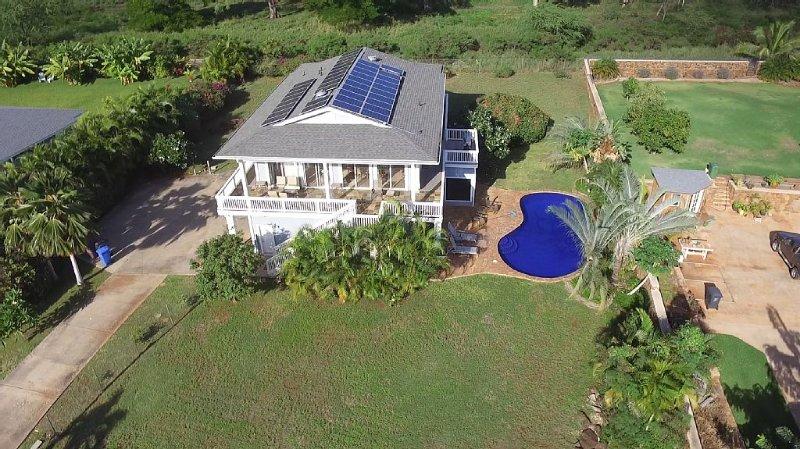 6 Bedroom, 7 Bath Home with Private Pool -  Ocean & Mountain Views, alquiler de vacaciones en Waianae