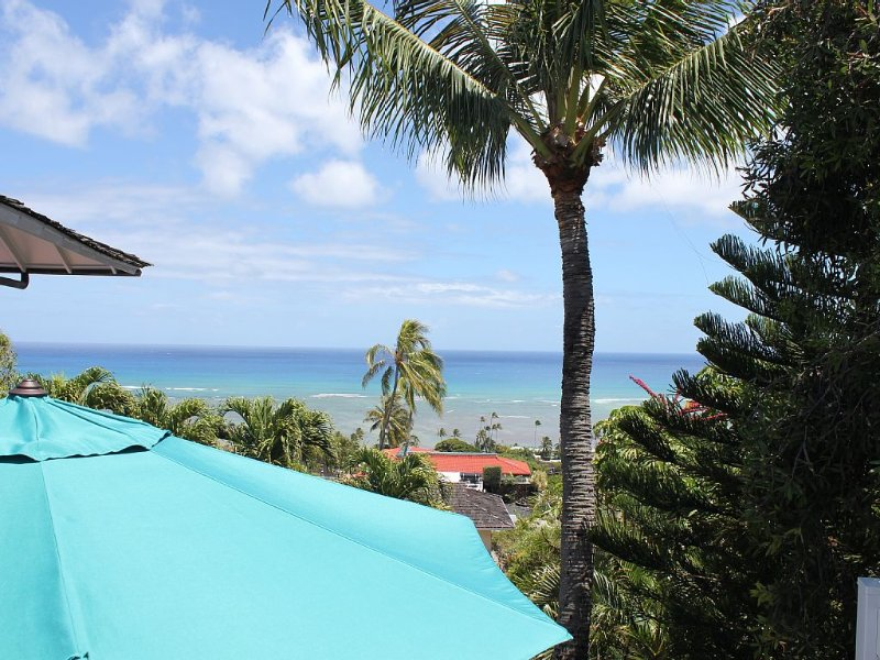 New Listing Boutique-style Unit With Ocean Views Minutes from Waikiki, holiday rental in Honolulu