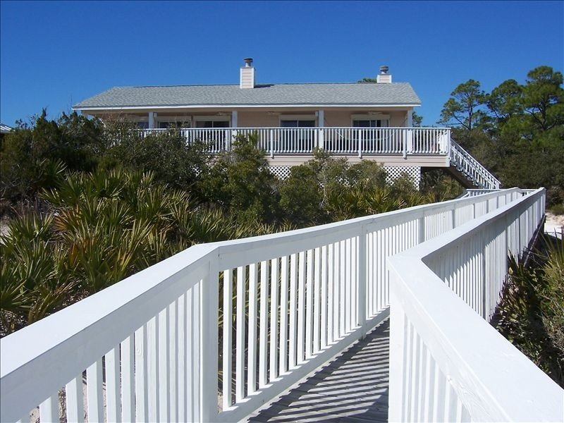 Starlight by the Sea, the porch, the view, straight from your dreams, holiday rental in Port Saint Joe