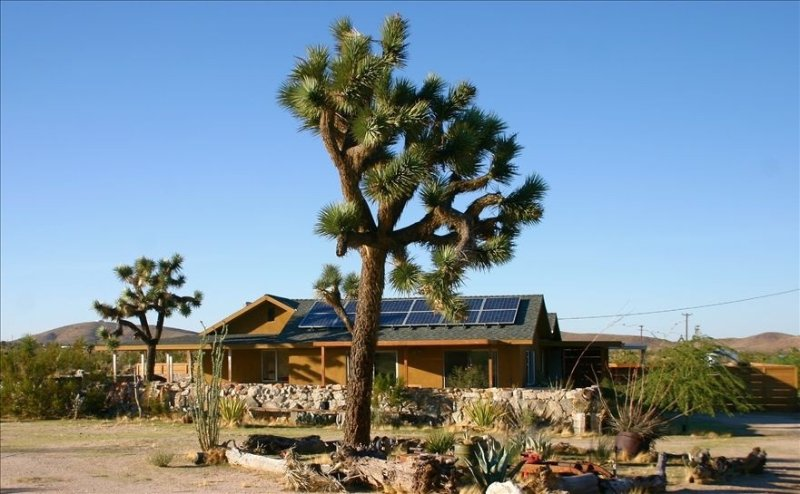 Secluded 20 Acre Retreat with Guest House and Pool, vacation rental in Joshua Tree