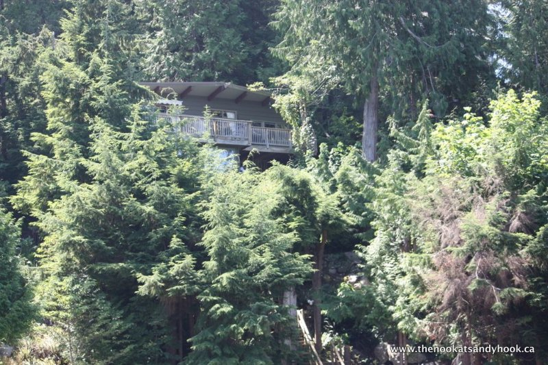 Hidden in the forest with private access to the beach.