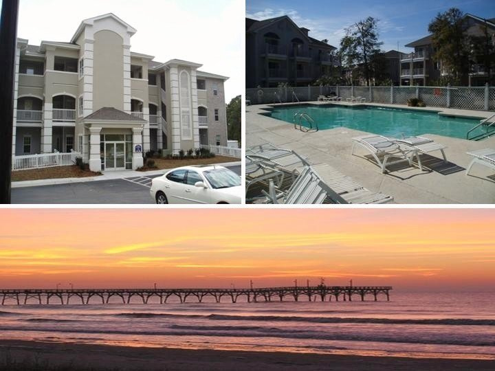 Colony II at Oyster Bay, 3BR/2BA, 1st Floor. Dec Special! $455 per week, Ferienwohnung in Sunset Beach